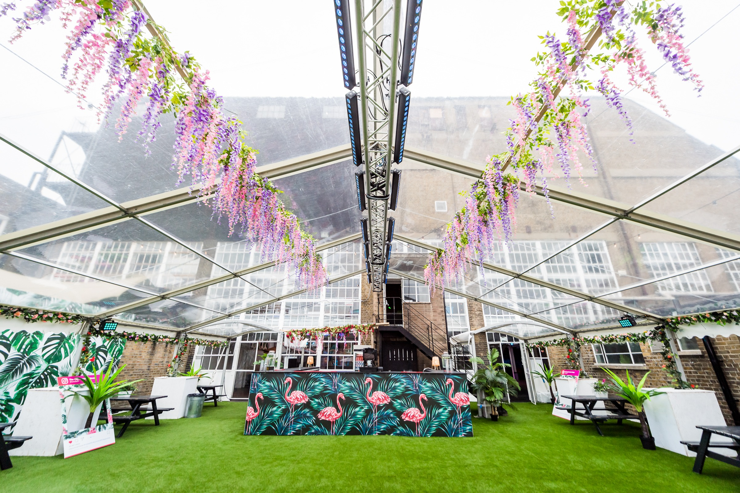 London Corporate summer venue party hire